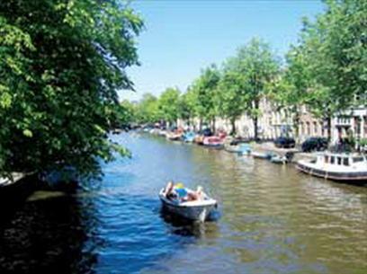 Hình bài viết Sông nước Amsterdam